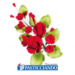 Selling on-line of Ramo rose rosse in zucchero
