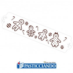 Vendita on-line di Stencil Gingerbread