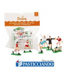Selling on-line of Kit calcio 9pz Decora
