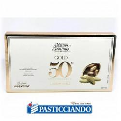 Vendita on-line di Confetti al cioccolato dorati Maxtris