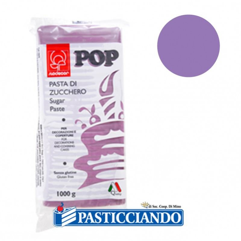 Pasta di zucchero pop lilla - Modecor