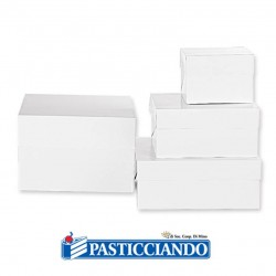 Vendita on-line di Box per dolci 26,5x26,5 H25 Decora