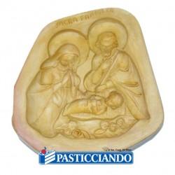 Vendita on-line di Sacra famiglia in gesso per martorana