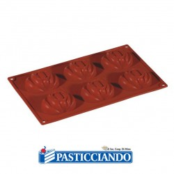 Selling on-line of Stampo in silicone zucca FR050 Pavoni