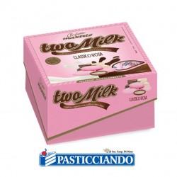Vendita on-line di Confetti two milk classico rosa Maxtris