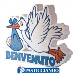 Selling on-line of POLISTIROLO NASCITA BENVENUTO