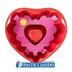 Vendita on-line di Stampo ciambella cuore