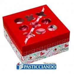 Vendita on-line di Box dolci amore con adesivi Wilton
