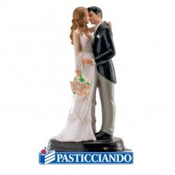 Vendita on-line di Sposi bacio romantici Dekora
