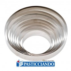 Vendita on-line di Cerchio inox D.22 H4,5 cm Decora