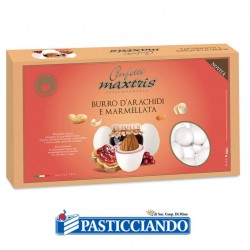 Vendita on-line di Confetti burro d'arachidi e marmellata Maxtris