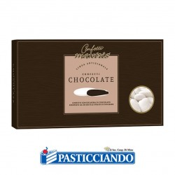 Vendita on-line di Confetti bianchi al cioccolato Maxtris