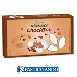 Vendita on-line di Confetti ChockBon bianco Maxtris