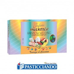 Vendita on-line di Confetti rainbow Maxtris