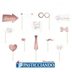 Selling on-line of Photo Booth wedding rosa gold GRAZIANO