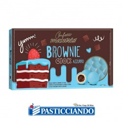 Selling on-line of Confetti brownie azzurri