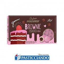 Selling on-line of Confetti brownie rosa