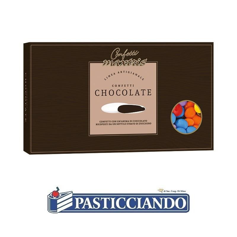 Lenti colorate cioccolato - Maxtris
