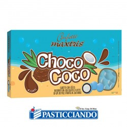 Selling on-line of Confetti Choco Coco azzurri