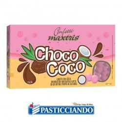 Vendita on-line di Confetti Choco Coco rosa Maxtris