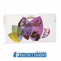 Vendita on-line di Confetti sfumati lilla al cioccolato Maxtris