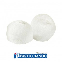 Selling on-line of Palline bianche marshmallow