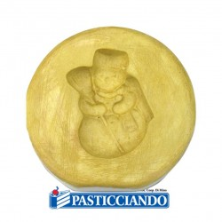 Selling on-line of Stampo pupazzo di neve gesso