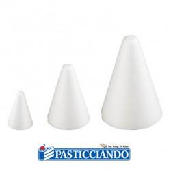 Vendita on-line di Cono polistirolo D.9 H20 cm Decora