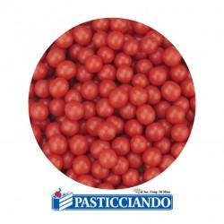 Vendita on-line di Perline rosse di zucchero
