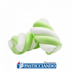 Vendita on-line di Treccia bianco verde 200gr Bulgari