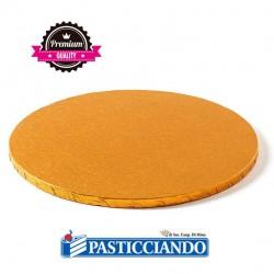 Selling on-line of Sottotorta rigido rotondo arancio D.30 H1,2 cm Decora