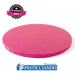 Selling on-line of Sottotorta bakery rotondo fucsia D.35 H1,2 cm Decora