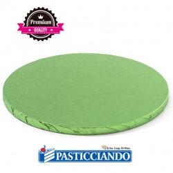 Vendita on-line di Sottotorta rigido rotondo verde chiaro D.35 H1,2 cm Decora