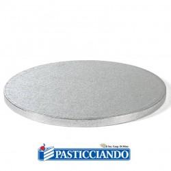Vendita on-line di Sottotorta bakery rotondo argento D.36 H1,2 cm Decora