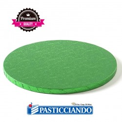 Selling on-line of Sottotorta rigido rotondo verde scuro D.40 H1,2 cm Decora