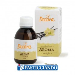 Selling on-line of Aroma liquido vaniglia 50gr Decora