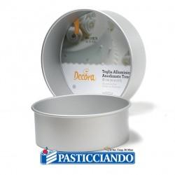 Vendita on-line di Teglia per torta in alluminio D.20 H10 Decora