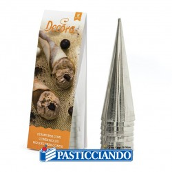 Vendita on-line di Stampi coni in alluminio Decora