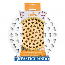 Vendita on-line di Griglia per crostata tagliapasta a cuore