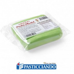 Selling on-line of Pasta di zucchero model verde chiaro 250gr