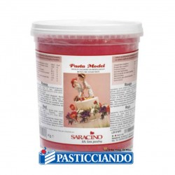 Selling on-line of Pasta di zucchero model rossa 1kg