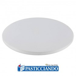 Selling on-line of Sottotorta bakery rotondo bianco D.40 H1,2 cm Decora
