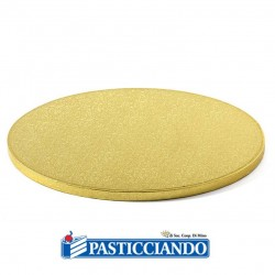 Selling on-line of Sottotorta bakery rotondo oro D.50 H1,2 cm Decora