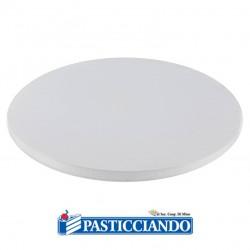 Selling on-line of Sottotorta rigido rotondo bianco d.50 h1,2 cm Decora