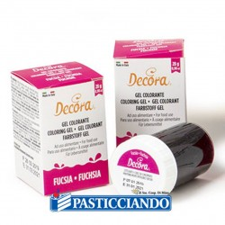 Selling on-line of Gel colorante fucsia intenso Decora