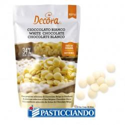 Selling on-line of Cioccolato bianco in dischetti