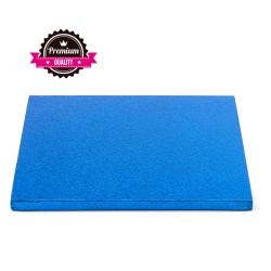 Selling on-line of Sottotorta rigido quadrato blu 30x30 h1,2 cm Decora