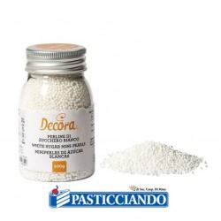 Vendita on-line di Perline di zucchero bianche 100gr