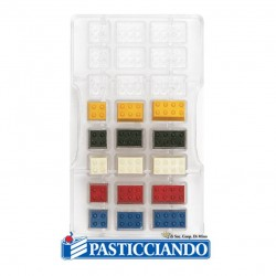 Selling on-line of Stampo per cioccolato mattoncini lego