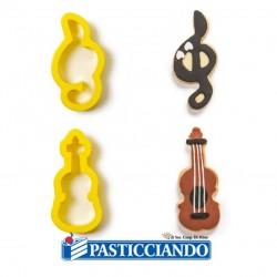 Vendita on-line di Tagliapasta chiave di sol e violino Decora